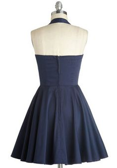 Traveling Cupcake Truck Dress in Navy, #ModCloth