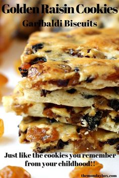 Raisin Cookie Recipe, Raisin Cookies, Raisin Tea Biscuit Recipe, Cookie Desserts, Cookie Recipes, Dessert Recipes, Finger Desserts, Easter Recipes, Snack Recipes