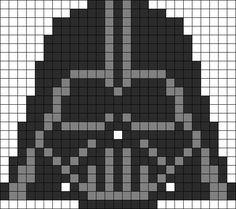 Star Wars Perler Bead Patterns - U Create Crochet Pixel, Star Wars Crochet, Bead Crochet Patterns, Weaving Patterns, Embroidery Patterns, Graph Crochet, Perler Bead Art, Perler Beads, Pixel Art