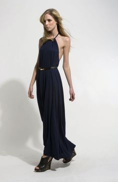 Backless | Navy. via The Cools