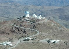 On my geek bucket list, visit Cerro Tololo Inter-American Observatory.