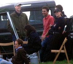 June 2008 - Prince William laughs with Kate on his birthday at Beaufort Polo Club in Tetbury, England. The pair were joined by Prince Harry as they watched England beat New Zealand in the Williams De Broe Polo Test Match. Prince William Kids, Prince William And Catherine, William Kate, Middleton Family, Kate Middleton Photos, Duchess Kate, Duchess Of Cambridge, Polo Match, Princess Kate