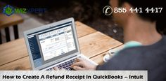 QuickBooks refund receipt open a refund and choose the customer. So create your refund receipt and QB automatically add the refund to customer's record.