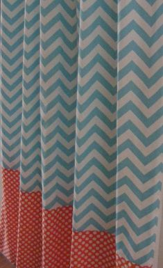 nursery curtains contrast band - Google Search