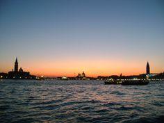 Sunset in Venice by Briela Gabriella
