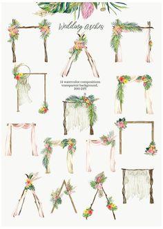 Diy Wedding Backdrop, Outdoor Wedding Decorations, Stage Decorations, Diy Wedding Arch Flowers, Wild Flower Wedding, Ceremony Backdrop, Wedding Stage, Fall Wedding, Wedding Beach