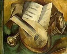 Georges Braque Musical Instruments