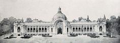 Rendering of the Petit Palais, Paris
