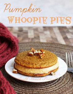 Pumpkin Whoopie Pies (if cream cheese and pumpkin can be tolerated; sub sweeteners for stevia)