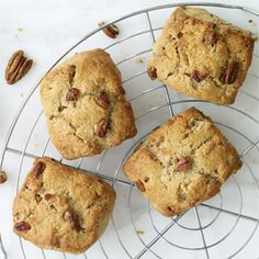 Maple-Pecan Scones - Maple syrup and pecans are a combination that never gets old; together in a flaky, buttery scone, they taste downright decadent; these scones are made with the Basic Scones recipe.