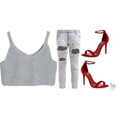 Untitled #154 by kaythefrugalista on Polyvore featuring polyvore fashion style One Teaspoon Schutz