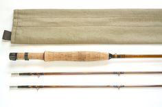 Carlson 7'6″ #5 2p2tip Quad 2012,12,28 -Bamboo Fly Rod  あのカールソンのクワッドです。west…