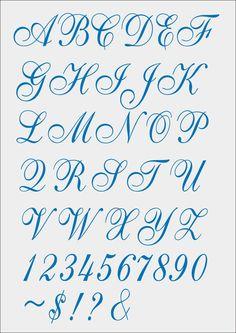 Font Cursivo for Machine Embroidery - pes - jef - xxx - dst - exp - hus - vip - Calligraphy Fonts Alphabet, Tattoo Fonts Alphabet, Cursive Alphabet, Copperplate Calligraphy, Hand Lettering Alphabet, Handwriting Fonts, Script Fonts, Graffiti Lettering Fonts, Tattoo Lettering Fonts