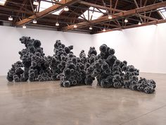 Untitled (Mylar), 2011 / an amazing installation by Tara Donovan at the Pace Gallery in NYC. photograph via A Daily Dose of Architecture.