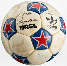 3962c3ff8a6 1970 s New York Cosmos Team Signed Soccer Ball - With Pele!...