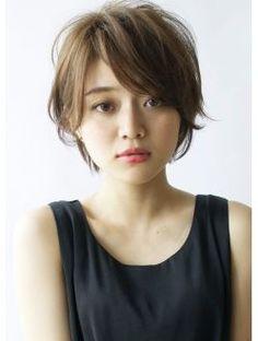 ヘアー パヒューム(hair PERFUME) 【Perfume八柱】女性らしさを感じる緩やかなラインのショート
