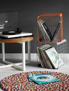 bac vinyles en 2021 meuble vinyle