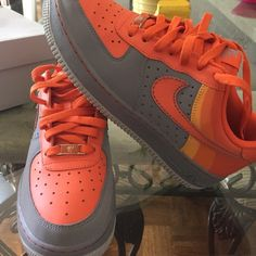 Air Force 1 Youth size 7 (size 8.5 in women's) Nike Shoes Sneakers