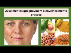 20 Alimentos que Previnem o Envelhecimento Precoce - YouTube