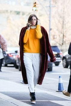 Get An Advanced Lesson In Street Style During NYFW #refinery29  http://www.refinery29.com/2016/02/103173/ny-fashion-week-fall-winter-2016-street-style-pictures#slide-7  And other times, a splash of yellow appears....