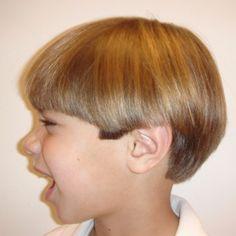 cute! longer boys haircut