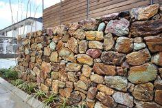 . Sora, Firewood, Fence, Facade, Stones, Construction, Exterior, Landscape, Architecture