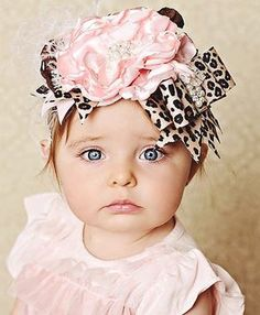 Couture Pink Cheetah Headband.  Love this Headband.