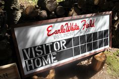 DIY baseball scoreboard Baseball Buckets, Metal Baseball Cleats, Baseball Hats, Baseball Sunglasses, Baseball Scoreboard, 3 Strikes, Fantasy Baseball, Birthday Fun, Diy
