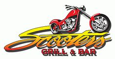 Scooters Bar And Grill In Fenton Biker Hanging Out Grilling