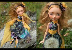 Ever After High Repaint Art Doll OOAK Ashlynn Ella by ItheDoll