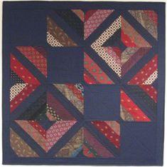 Custom Memory Quilts - Necktie Quilts