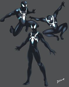 how I liked seeing spiderman with the black suit of number 800 why and drawn something fast this spiderman.S drawn more costumes dclaret. Miles Spiderman, Black Spiderman, Amazing Spiderman, Spiderman Black Suit, Batman Art, Marvel Art, Solgaleo Pokemon, Spiderman Pictures, Character Art