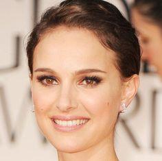 Natalie Portman's 2012 Golden Globes Hair and Makeup Look | POPSUGAR Beauty Australia