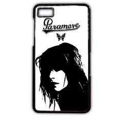 Hayley Williams Paramore TATUM-5197 Blackberry Phonecase Cover For Blackberry Q10, Blackberry Z10