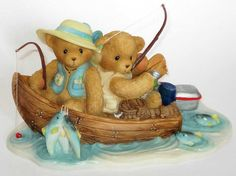 Heidi´s Cherished Teddies Galerie: FRAN and HANK - You're A Perfect Catch! (4001914)