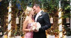 Viva Las Vegas Weddings - Las Vegas Outdoor Weddings   Nighttime Garden Wedding Packages