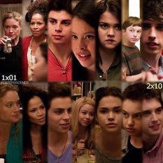 1x01 & 2x10 they all look a lot different...especially lena, jude, and callie