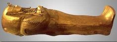 Tutankhamun's Gold Inner Coffin ( I wouldn't open it if I were you)