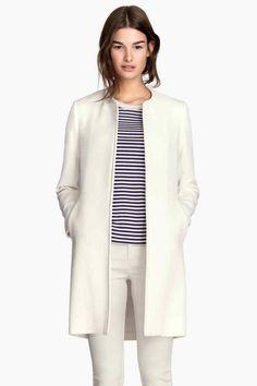 Cappotto tessuto strutturato | H&M