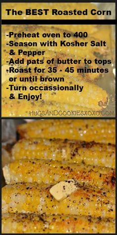 The BEST Roasted Corn