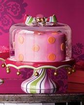 What a fun cake stand!