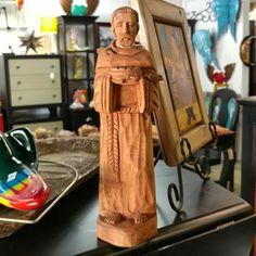 Wooden Santo Saint Religious de Mexico