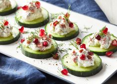 Looking for veggie hors d'oeuvres for your holiday party? They don't come any easier than these Cucumber Veggie Bacon & Ricotta Bites.