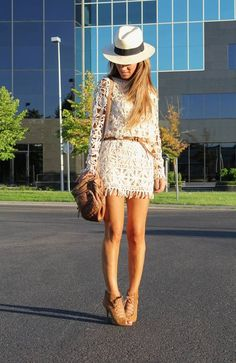 Crochet Dress by Lola Mansil Fashion Diary