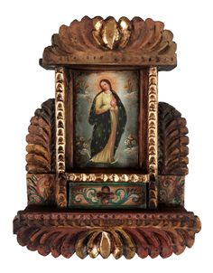 I have collected retablos for years..  LOVE them