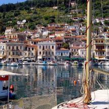Githion, the port of Sparta, Lakonia, Peloponnese, Greece