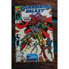 #GuardiansoftheGalaxy Number 2 Comic Book 1990 by VintageGotham on Etsy