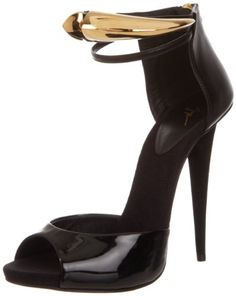 Giuseppe Zanotti Women's I30069 Ver Nera Sandal - Make a statement in the next occasion you are going to.