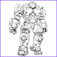 11 Awesome Collection Of Hulk Buster Coloring Page Superhero Coloring Pages Hulkbuster Armor Superhero Coloring