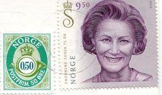 Norway, Queen Sonja stamp
